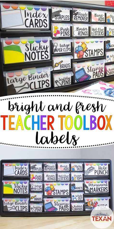 This DIY teacher toolbox is one of my favorite cla…