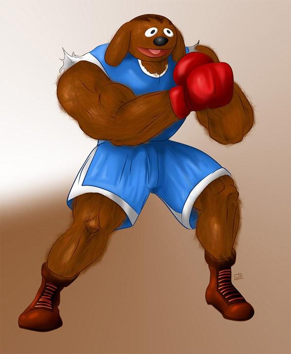 Sesame_Street_Fighter_Rowlf