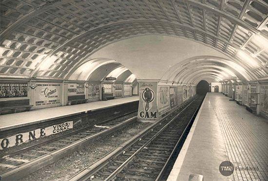 Estación de metro de Universitat (1950)