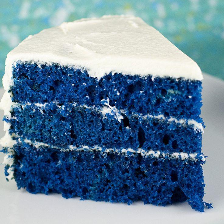 Blue Velvet Cake bonne bouffe! Pinterest