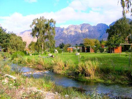 Slanghoek Mountain Resort - Rawsonville,  Camping - R600/nag