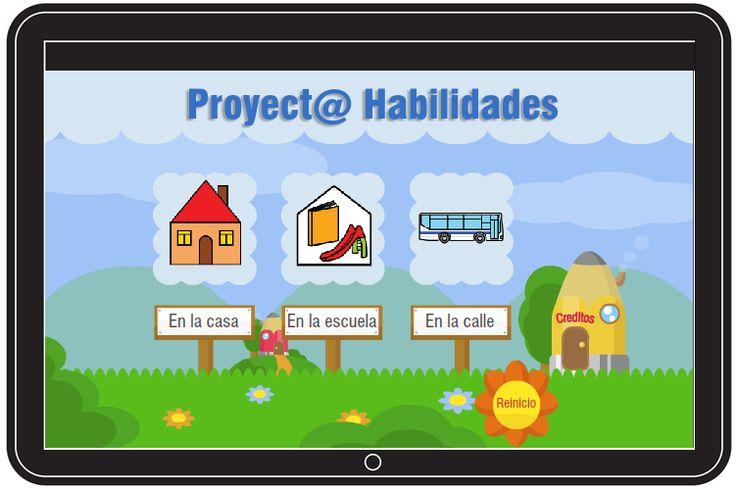 El Proyect@ Habilidades Software es una aplicación que trabaja la función ejecutiva en niños con Trastornos del Espectro del Autismo.