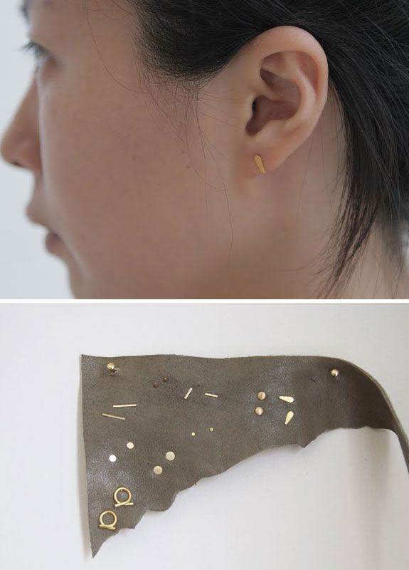 tiny minimalist ear candy | adornment / accessory ...