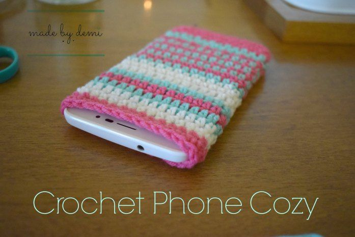 Crochet phone cozy #crochet #crafts