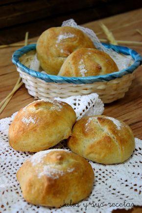 pan, pan casero, panecillos, Julia y sus recetas