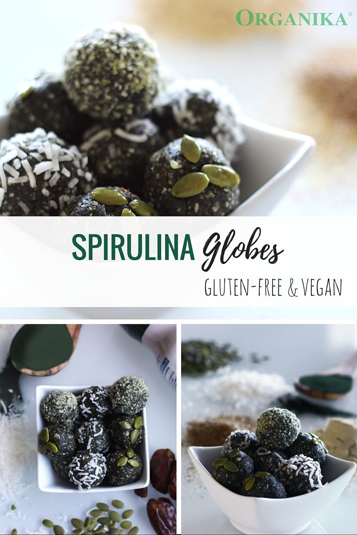 Check out how to make Spirulina Globes with this recipe. A quick snack to enjoy in 15 minutes, that's vegan, gluten free, healthy, and packed with protein.