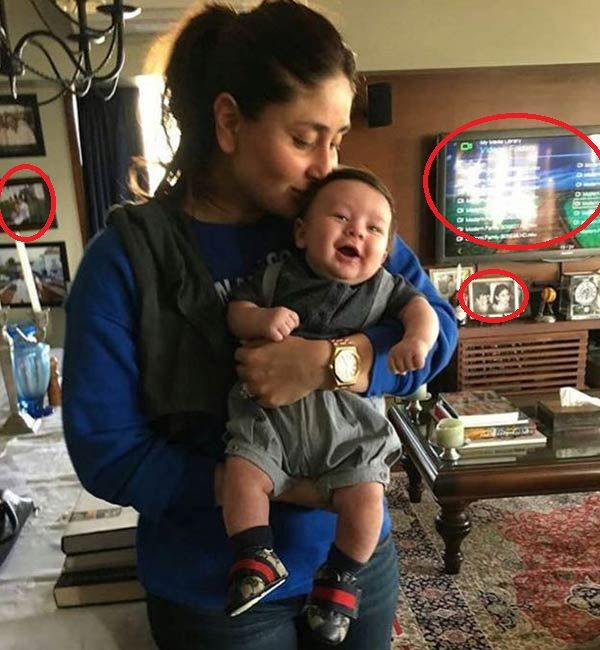 Kareena Kapoor Khan holding baby Taimur must have melted your heart, but did you notice these hidden clues in the viral pic? #FansnStars
