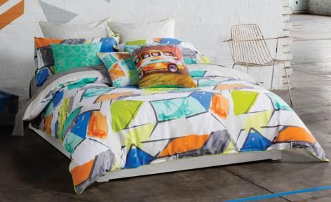 Addy Quilt Cover Set by KAS Australia