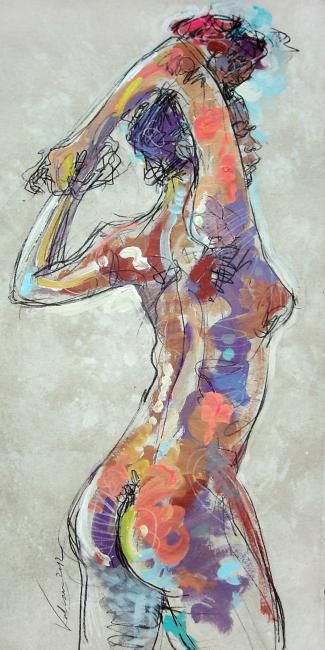 "Raluca Vulcan (©2012 artmajeur.com/vulcanexpo)>< <> ""My body tingles all over when I'm with you . . """