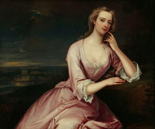 1724 Henrietta Howard, née Hobart by Charles Jervas (Marble Hill House - London UK)