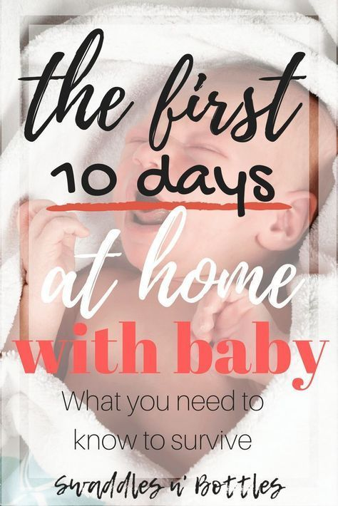 Surviving the First 10 Days at Home With Baby. Great tips on breastfeeding, visitors, frozen meal prepping, and recovery tips! A must read for all expectant and new moms!