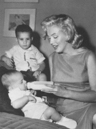 147 best Marilyn w/ children images on Pinterest | Norma ...