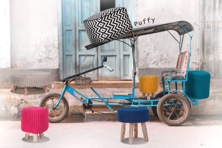 35 best die sch nsten poufs und hocker images on pinterest. Black Bedroom Furniture Sets. Home Design Ideas