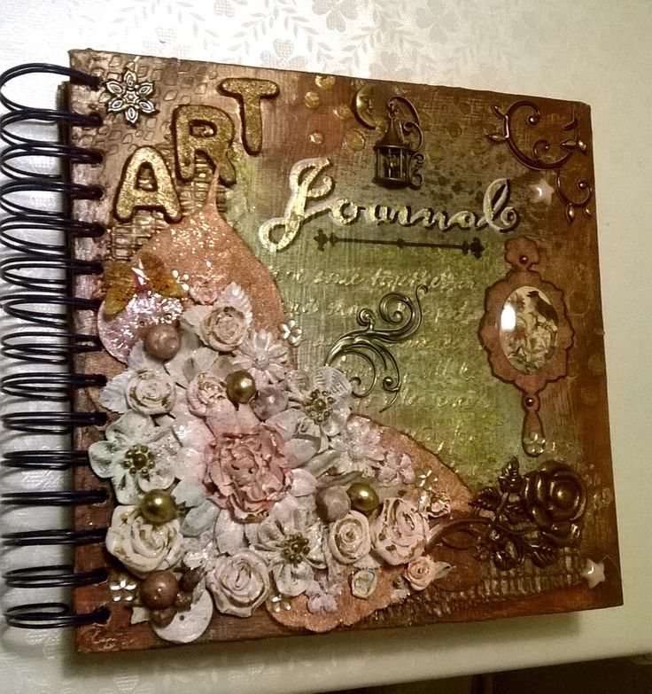 Art Journal 1 / Cover - mixed media - v. skonea