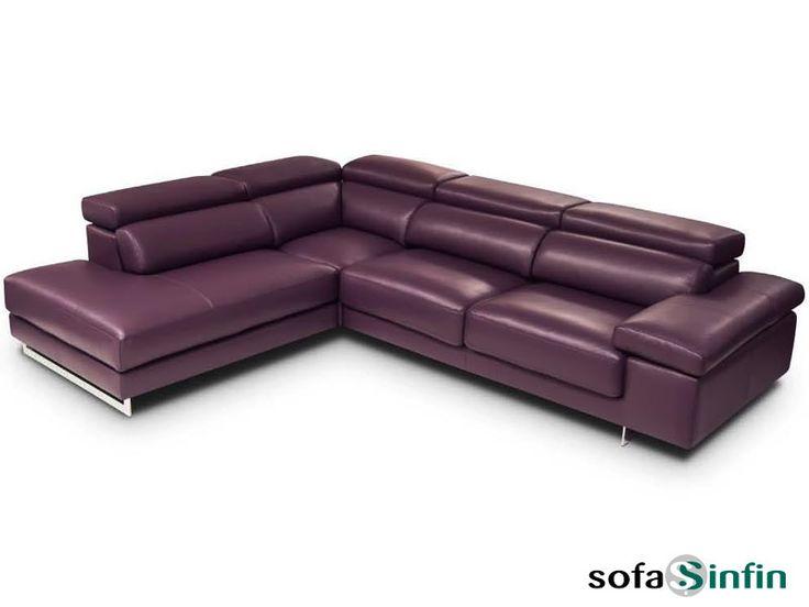 Sofá Chaise Longue Con Relax Modelo Nina Fabricado Por Losbu En  Sofassinfin.es
