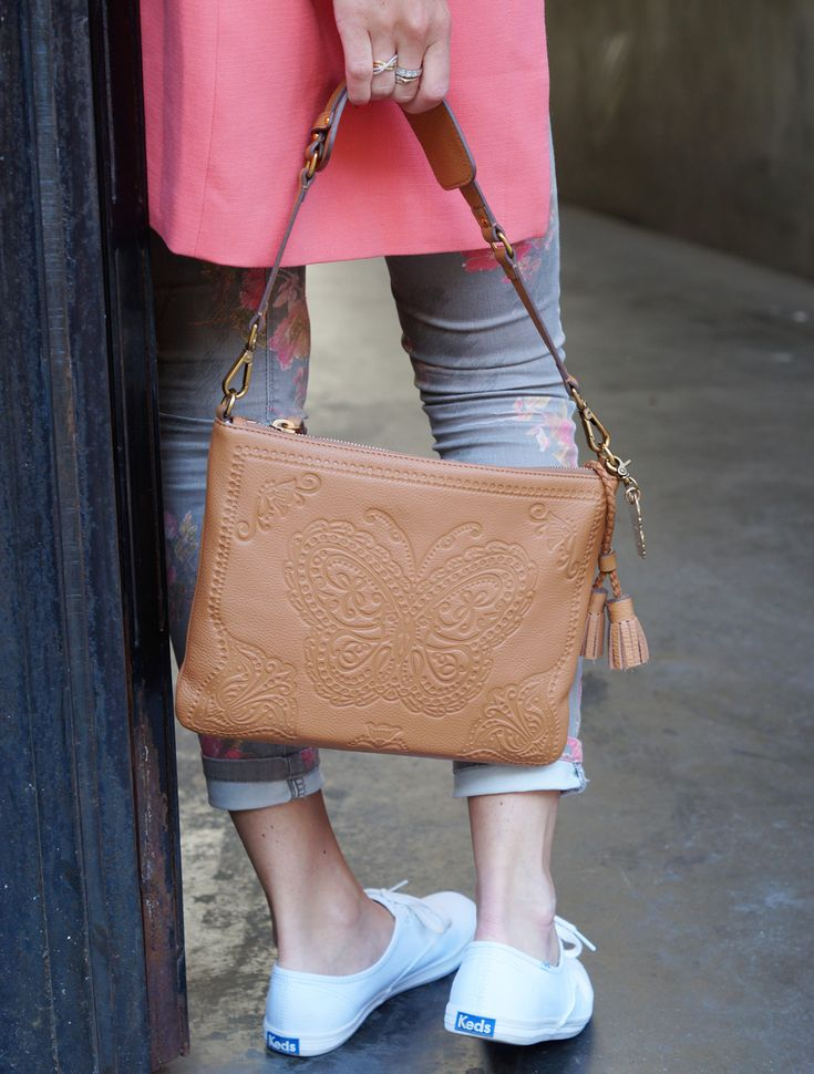 Street Style  Keds Sneakers and Leontine Hagoort Bag  Read all about this on http://bit.ly/1X8f8dF