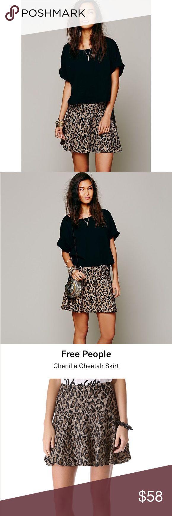 I just added this listing on Poshmark: Free People Chenille Cheetah Skirt, XS. #shopmycloset #poshmark #fashion #shopping #style #forsale #Free People #Dresses & Skirts