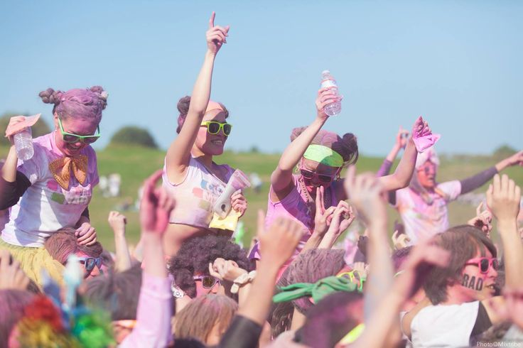Run & Color & EDM Festival & Cosplay