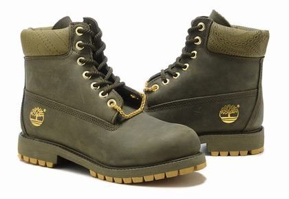 Cheap Timberland Men 6 Inch Boots Army Green