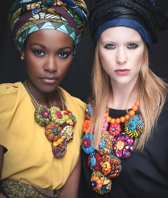 patternprints journal: ETHNIC PATTERNS INTO WONDERFUL AND SCENIC ACCESSORIES BY TOUBAB PARIS