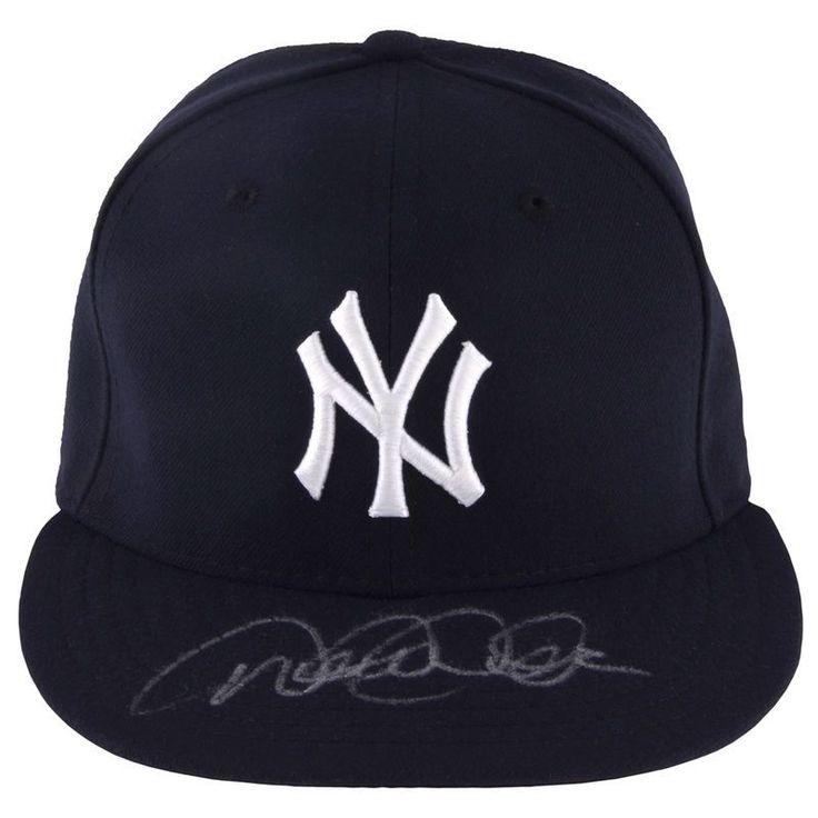 Derek Jeter New York Yankees Steiner Sports Autographed Majestic Hat