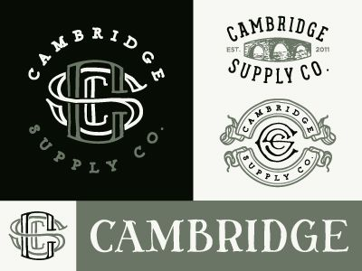 Cambridge Logo Options
