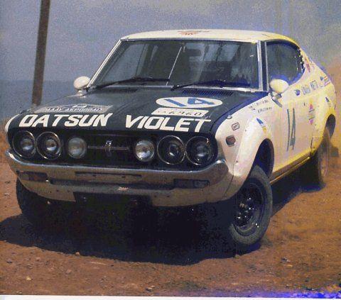 Datsun Violet 160J - Rally