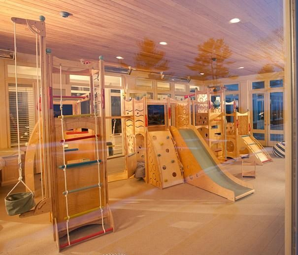 Indoor playground This would be awesome if i had a huge house                                                                                                                                                      More
