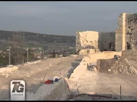 Nuovi reperti al Castello di Montorio