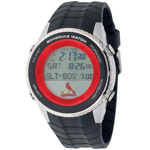 Saint Louis Cardinals St. Mens Schedule Wrist Watch