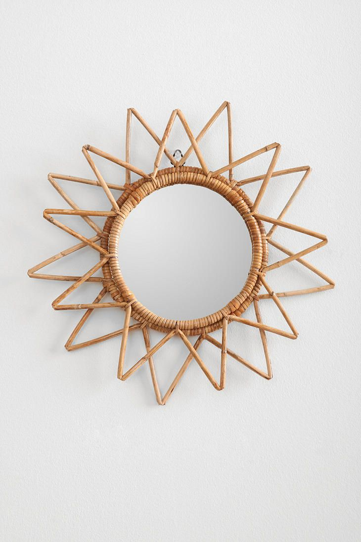 Magical Thinking Woven Wall Mirror #urbanoutfitters