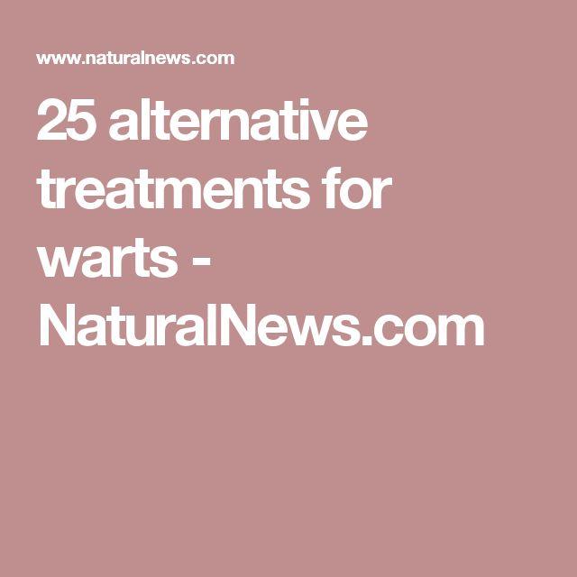 25 alternative treatments for warts - NaturalNews.com