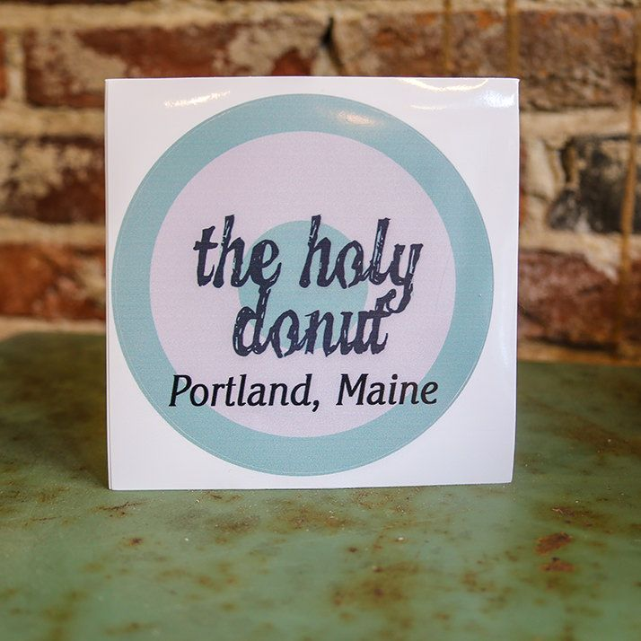 """Show everyone your love for The Holy Donut with this fab 5"""" sticker. Also makes a great gift for The Holy Donut fans in your life."""