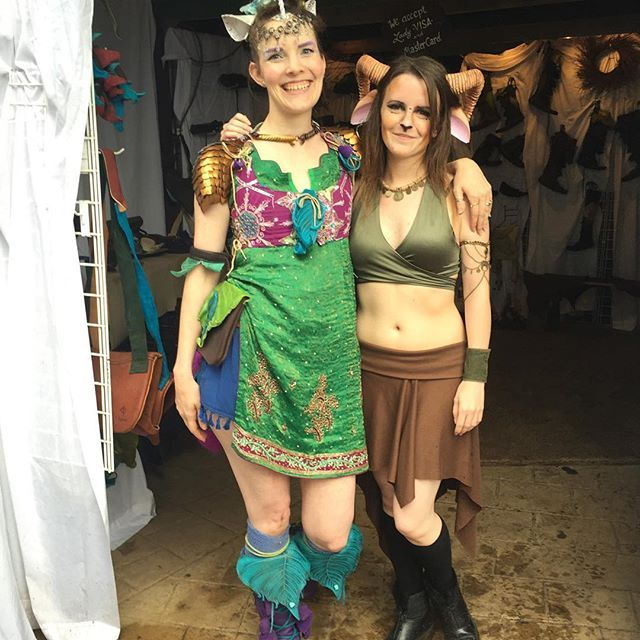 Minnesota Renaissance Festival first weekend off with a blast!  First day I was a unicorn to match my unicorn emblazoned #treadlight boots!  I also met a lovely faun who asked for my photo! #minnesotarenaissancefestival #minnesotarenaissancefestival2016 #costume #cosplay #cosplaygirl #treadlightgear #boots #unicorn #unicorngirl horn: #fireflypath #unicornhorn ears: #noxhyde @treadlightgear @manna_treadlight