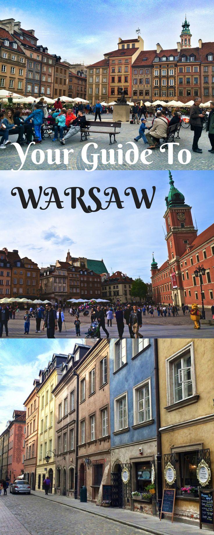 Razón por la que estaba equivocado acerca de Varsovia, Polonia y estás Guía de la ciudad de Varsovia.