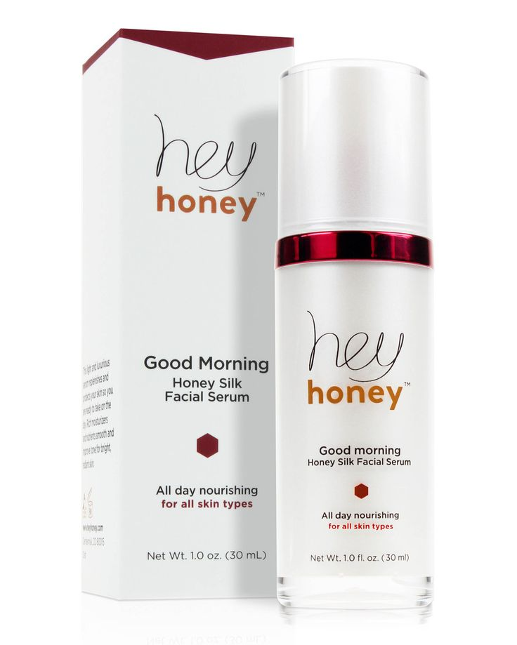 Good Morning Honey Silk Serum   Honey Beauty Skin Care Productss