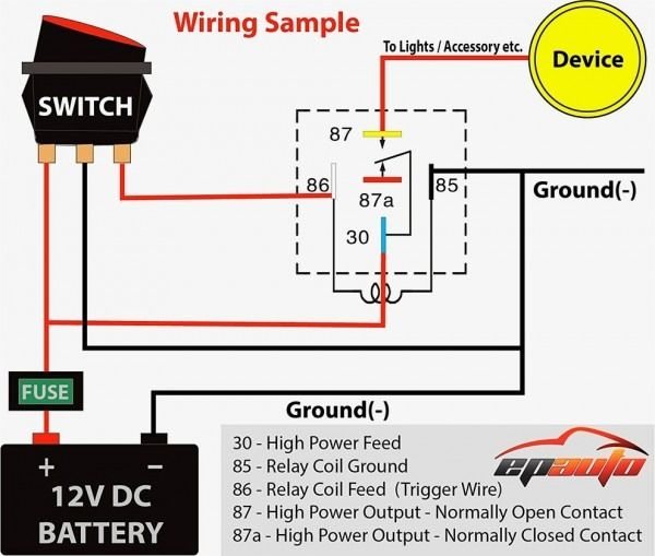 12 Volt Toggle Switch Wiring Diagrams Electrical Diagram Electrical Wiring Diagram Automotive Electrical