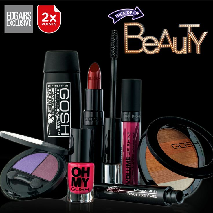 Beauty has its rewards. Earn 2x Thank U points when purchasing any Gosh product.