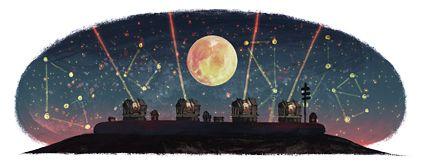 13th Anniversary of the 4 unit VLT telescope: Antu, Kueyen, Melipal and Yepun