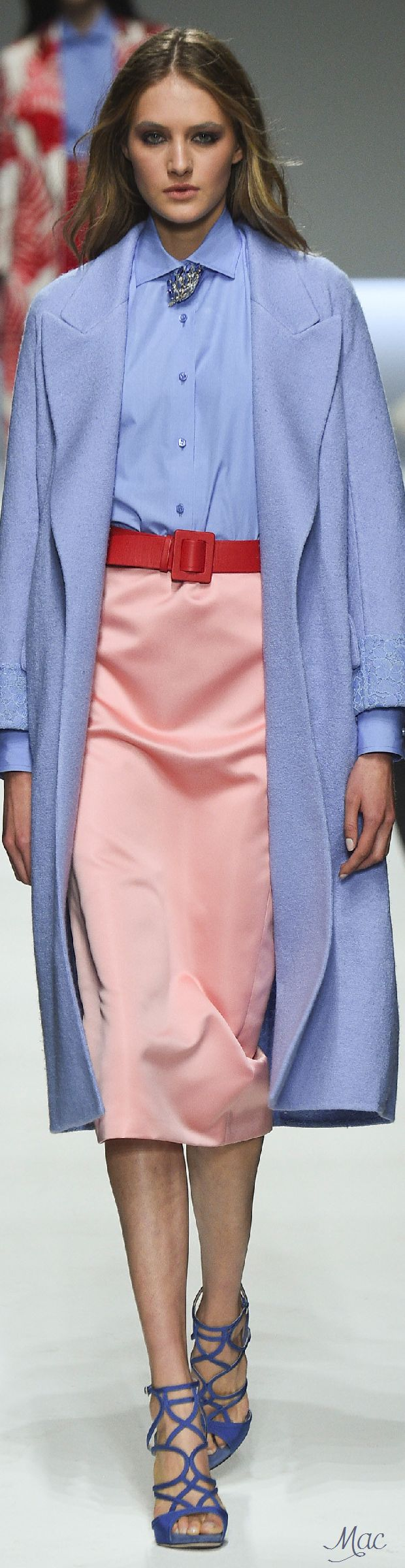 Spring 2016 Ready-to-Wear Ermanno Scervino women fashion outfit clothing style apparel @roressclothes closet ideas