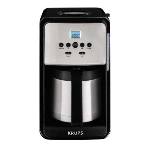 Coffee Makers Automatic 65635: Krups Et351050 Savoy 12 Cup Thermal Coffee Maker -> BUY IT NOW ONLY: $94.95 on eBay!