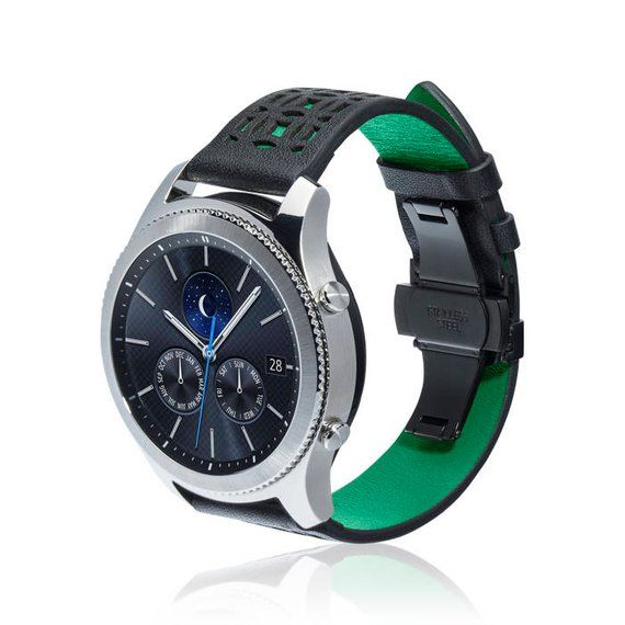 Watch Band Life For Samsung Gear S3 Classic Gear S3 Frontier More Colors Available Stainless Steel And Leather Watch Bands Samsung Watches Leather
