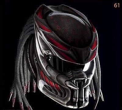 Predator Motorcycle Helmet DOT Fire Red Motif & Tri Laser... https://www.amazon.com/dp/B077CRS8JB/ref=cm_sw_r_pi_dp_x_Z8LfAb1QNG0RP