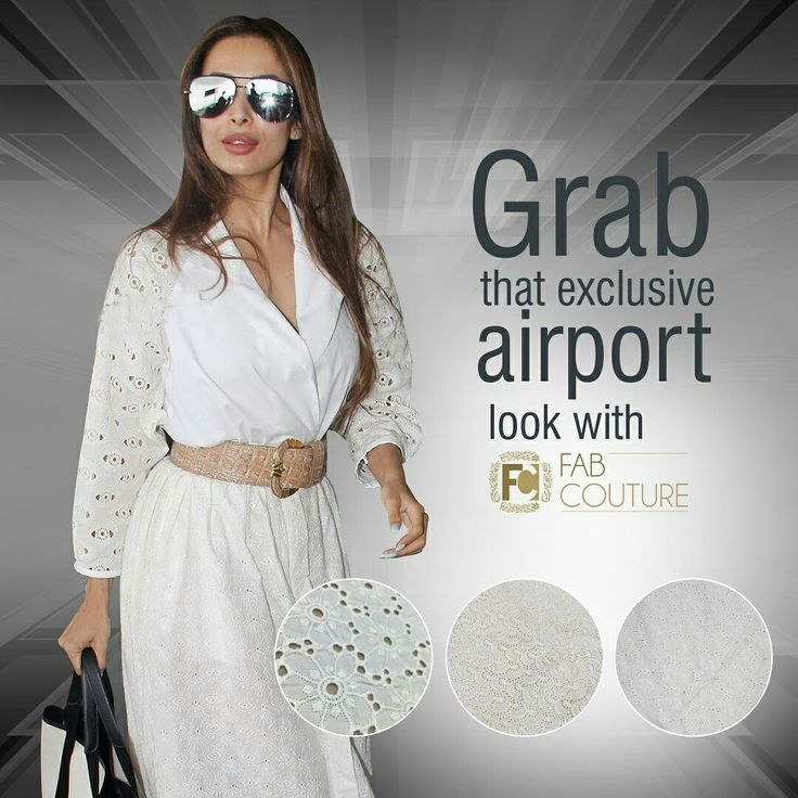 Grab the perfect airport look with #FabCouture.