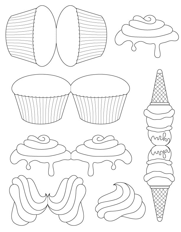 4a57f5b9cad1c5850b81939f557ff4ce 25 best ideas about cupcake template on pinterest cupcake on yuniquely sweet free blogger template