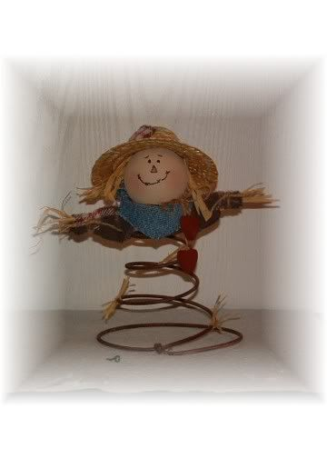 bed spring crafts | Pumpkin and scarecrow bed springs - Crafts and Decorations Forum ...