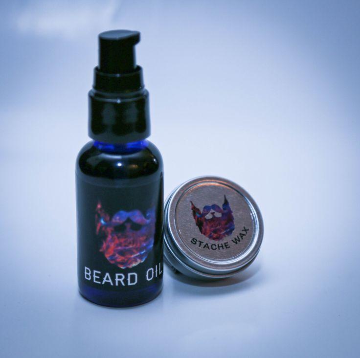Beard Oil & Moustache Wax Kit www.universalbeard.co