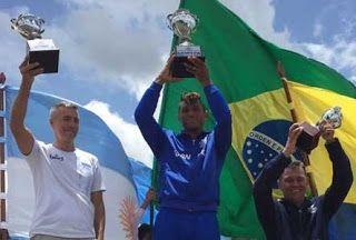 Blog Esportivo do Suíço: Isaquias Queiroz leva mais dois ouros e fecha Sul-Americano invicto