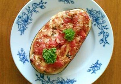 Lilek s rajčaty a sýrem - DIETA.CZ