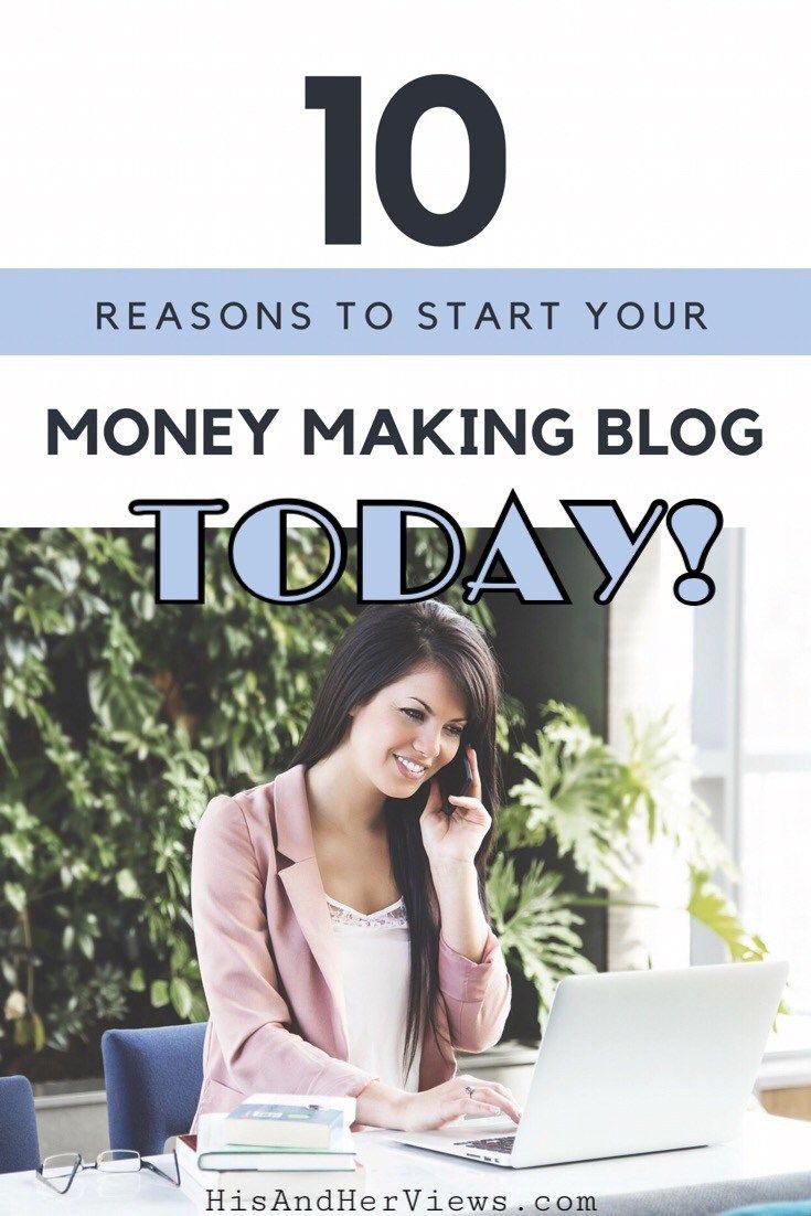 Start A Money Making Blog | How To Start A Blog | Earn Money Blogging | Make Money Online | Online Work | Writing Online | Self Employment | Work From Home